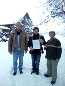 Protest autorizat Bistrita: Stop amnistie si gratiere