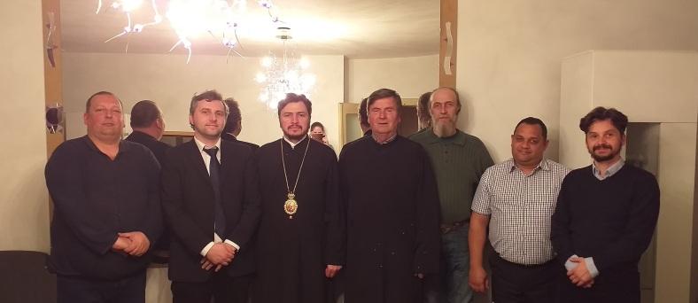 Unionistii bistriteni si PS Veniamin Goreanu